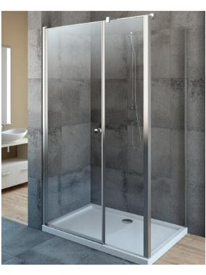 Radaway, EOS KDS zuhanykabin, szögletes, 100*90 cm