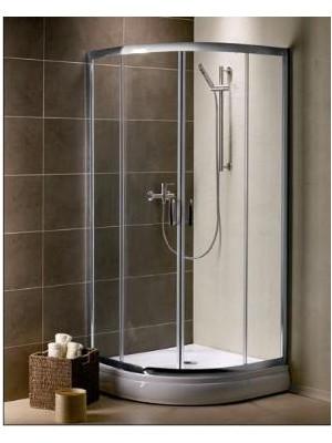 Radaway, Premium Plus A 1900 zuhanykabin, íves, 80*80 cm