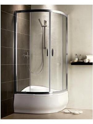 Radaway, Premium Plus A 1700 zuhanykabin, íves, 80*80 cm