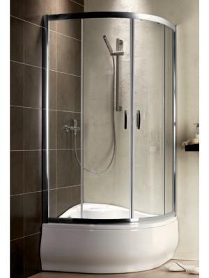 Radaway, Premium Plus A 1700 zuhanykabin, íves, 90*90 cm