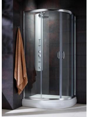 Radaway, Premium Plus E 1900 zuhanykabin, íves, 100*80 cm