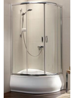 Radaway, Premium Plus E 1700 zuhanykabin, íves, 100*80 cm