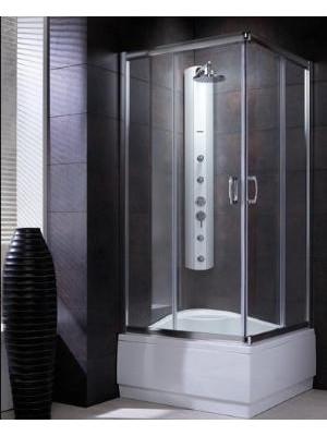 Radaway, Premium Plus C 1700 zuhanykabin, szögletes, 80*80 cm