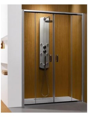 Radaway, Premium Plus DWD zuhanyajtó, 160*190 cm