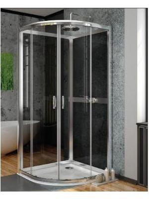 Radaway, Premium Plus A+2S zuhanykabin variáció, íves, 80*80 cm
