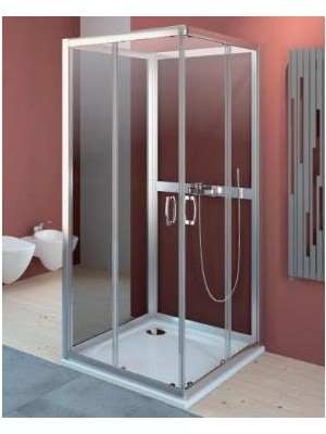 Radaway, Premium Plus C+2S zuhanykabin variáció, szögletes, 90*90 cm