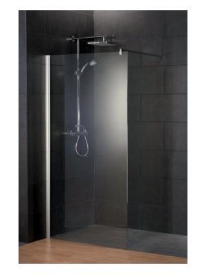 HSK, Walk In Style zuhanyfal, króm, átlátszó, 100 cm