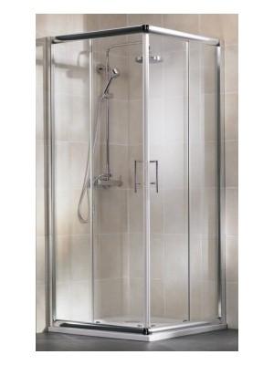 HSK, Imperial sarokbelépős zuhanykabin, alu matt, átlátszó, 90*90 cm