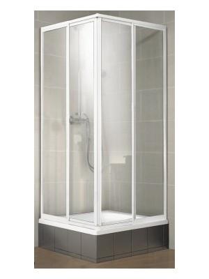 HSK, TOP sarokbelépős zuhanykabin, alu matt, átlátszó, 90*90 cm