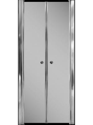 Aqualife, Zuhanyajtó HX-109T, 2 ajtós, be-és kifele nyíló ajtó