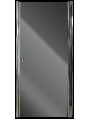 Aqualife, Zuhanyajó HX-109T 90*185 cm, nyíló zuhanyajtó chrome profil matt üveg