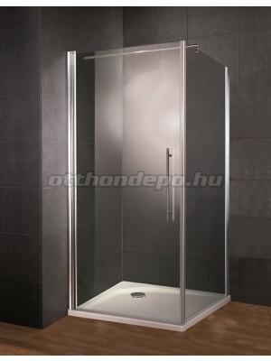 Bemutató termék, HSK, New Style oldalfal nyílóajtóhoz vagy önállóan, króm, 90 cm