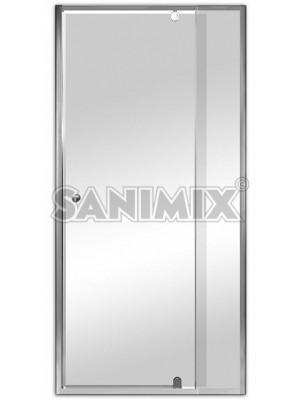 Sanimix, zuhanykabin ajtó állítható szélesség 760-910 mm, 185 cm, 22.011