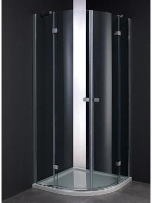 Wellis, Arno, 2 nyílóajtós, íves, zuhanykabin, 90*90 cm I.o.
