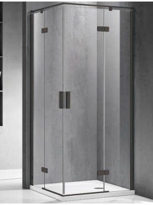 Wellis, Murano, 2 nyílóajtós, szögletes, zuhanykabin, 90*90 cm I.o.