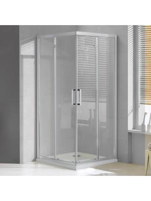 Wellis, Apollo 90, zuhanykabin, szögletes, tolóajtós, 90*90 cm I.o.