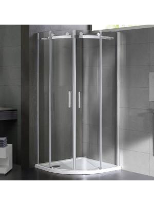 Wellis, Virgo zuhanykabin, íves, tolóajtós, 90*90 cm I.o.