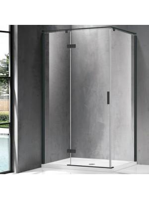 Wellis, Palmaria, nyílóajtós, szögletes, zuhanykabin, 120*90*195 cm I.o.