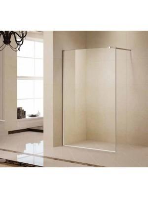 Korra, K-W05, Walk-In zuhanyfal, natúr üveg, 90*200 cm I.o.