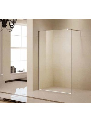 Korra, K-W05, Walk-In zuhanyfal, natúr üveg, 120*190 cm I.o.