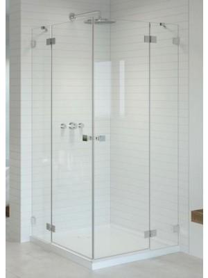 Radaway, Essenza PRO, szögletes, zuhanykabin KDD 80 B + KDD 80 J I.o
