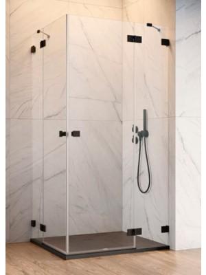 Radaway, Essenza PRO Black, szögletes, zuhanykabin KDD 100 B + KDD 100 J I.o