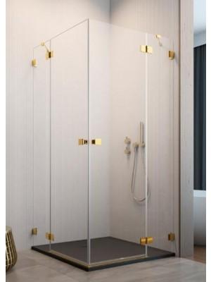 Radaway, Essenza PRO Gold, szögletes, zuhanykabin KDD 100 B + KDD 100 J I.o