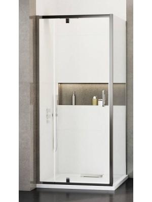 Wasserburg, WB18 zuhanykabin 2518-90, szögletes, nyíló ajtós, 90*90 cm
