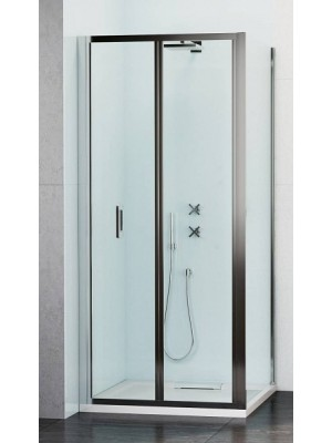 Wasserburg, WB23 zuhanykabin 2523-80, szögletes, csuklós, 80*90*190 cm