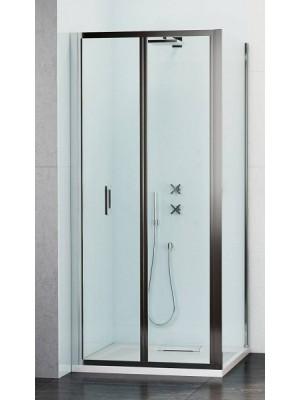 Wasserburg, WB23 zuhanykabin 2523-90, szögletes, csuklós, 90*90*190 cm